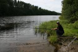 Рыбалка на Суне