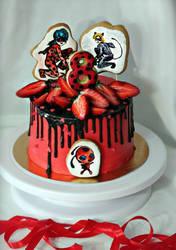 Тортик Леди Баг и Супер-кот