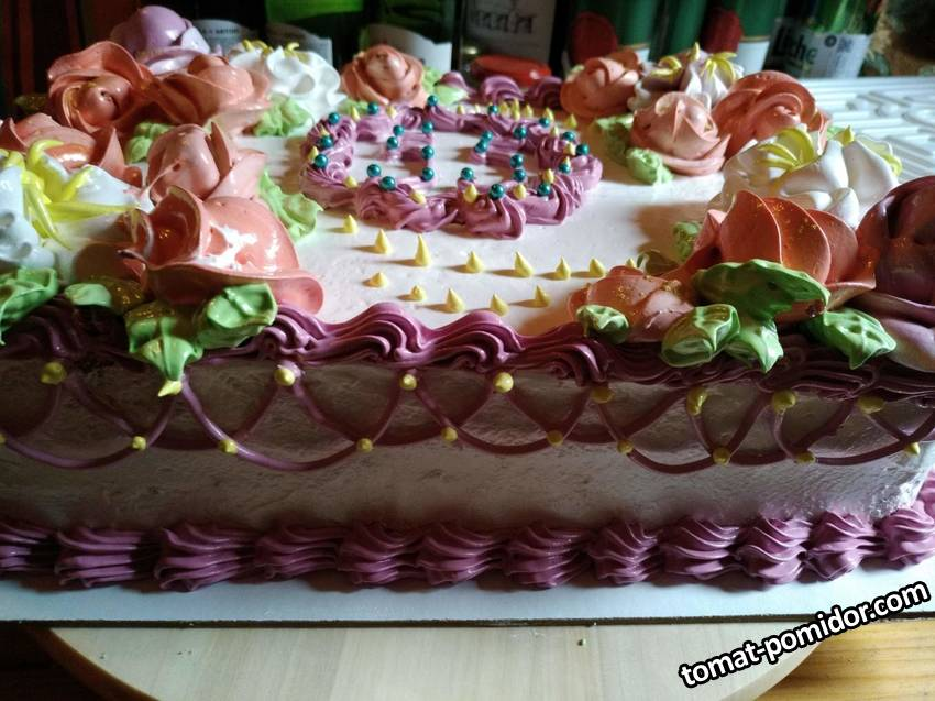 Торт для супруга