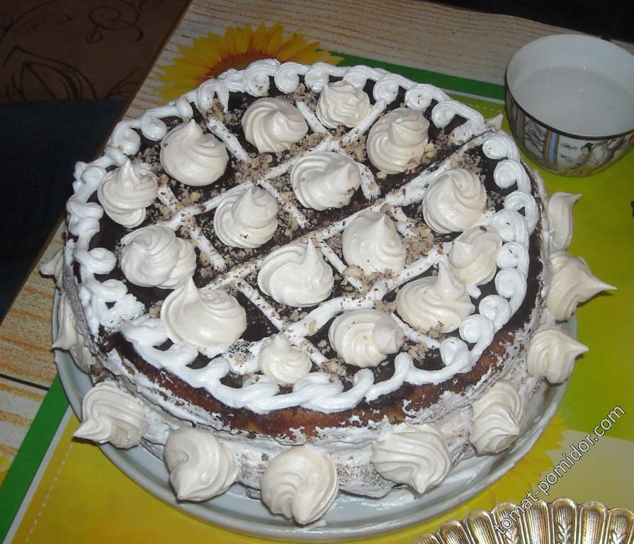 Тортик с безе