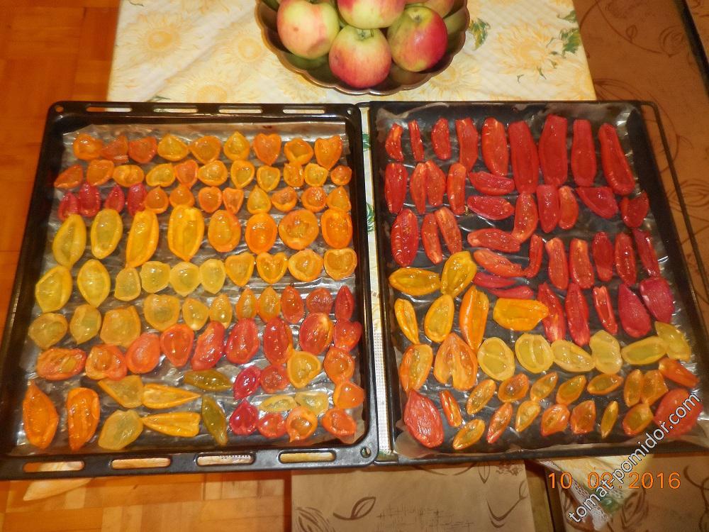 Вяление помидоров. Шаг 3