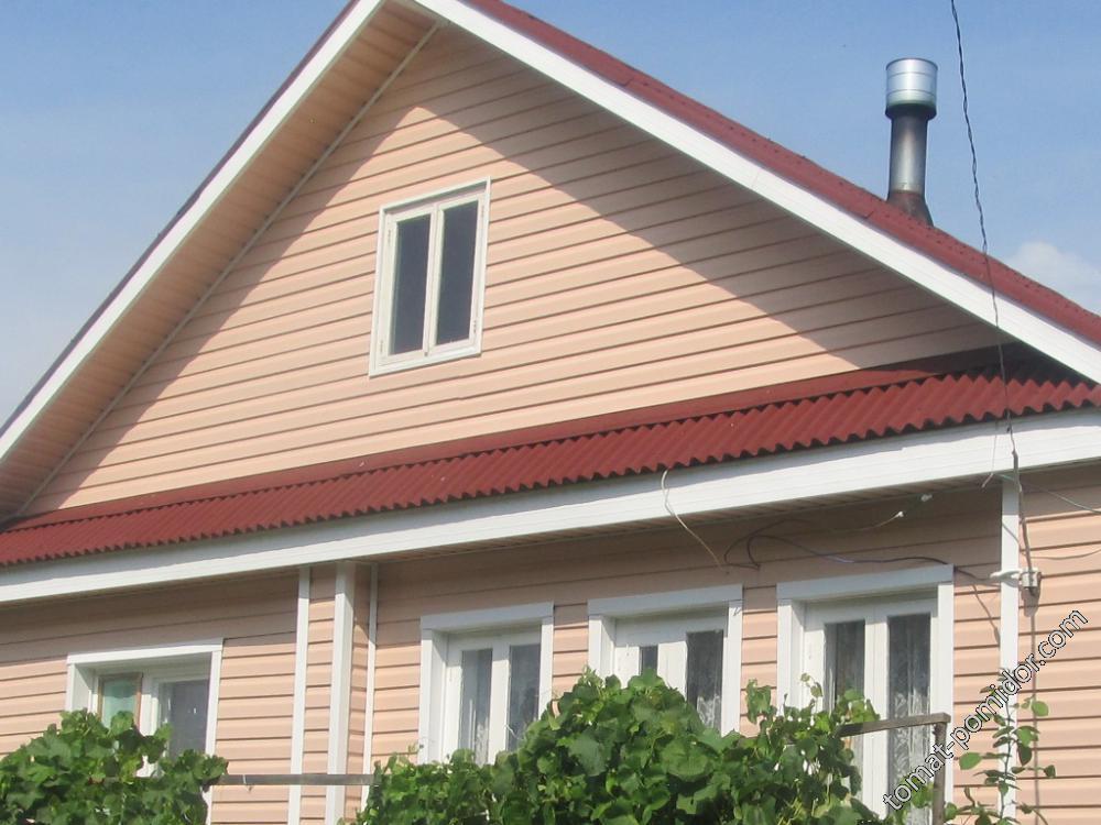 Дом окна и сайдинг