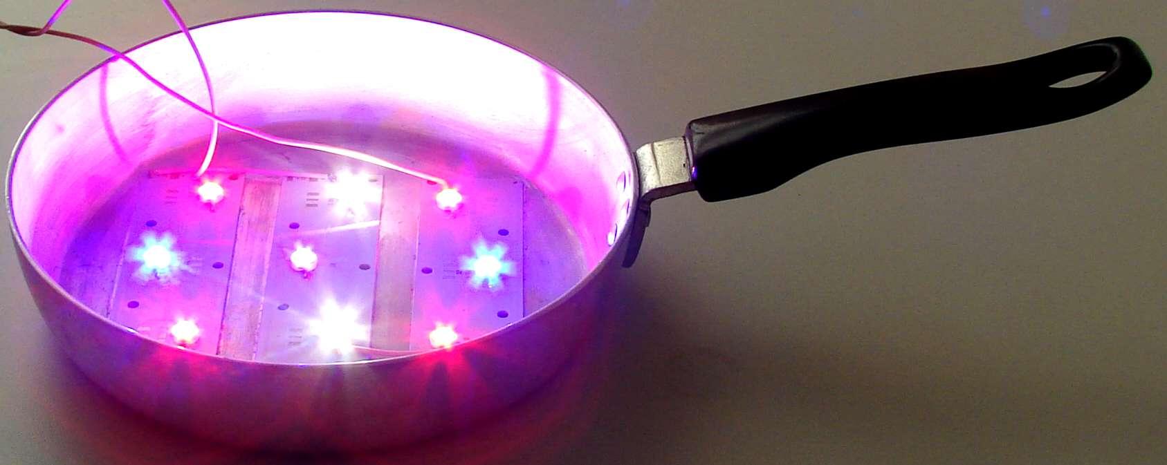 Светодиодный светильник своими руками Выращивание
