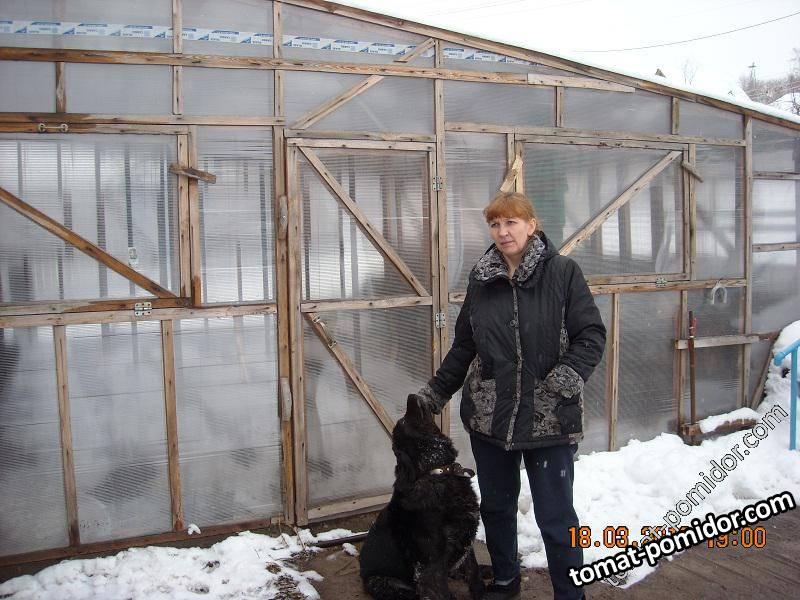Весна и моя охранница -кавказюка Бонни