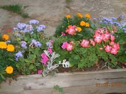 Цветочный ящик на балке