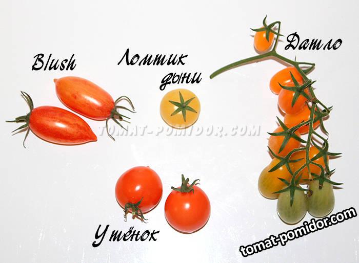 Черри желто-оранжевые
