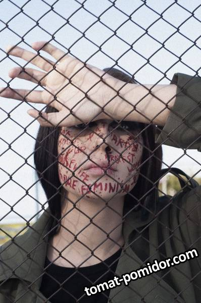 Сноха) учавствовала в мероприятии по макияжу, как модель