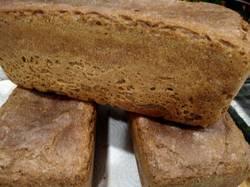 Хлеб из цельнозерновой муки ржано-пшеничный