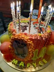 Торт для Маруси