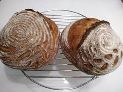 Хлеб на закваске пшеничный из смешанной муки