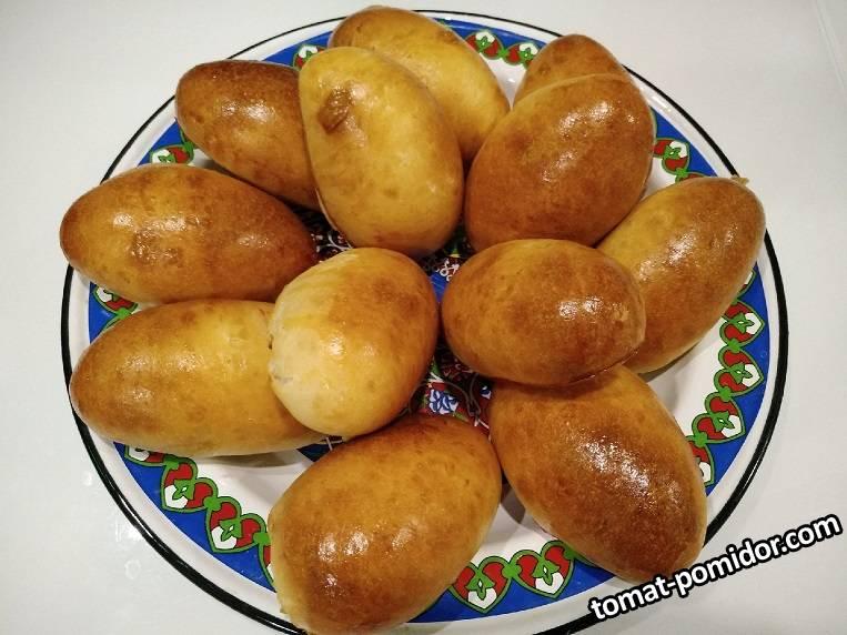 пирожки на закваске с клюквой