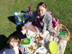 Piknik s restorannym kuskusom