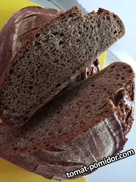 Конопляный хлеб на закваске