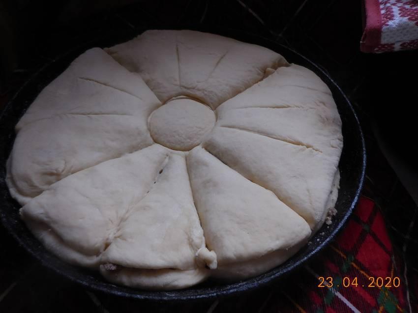 Пасхальный пирог. Шаг 4