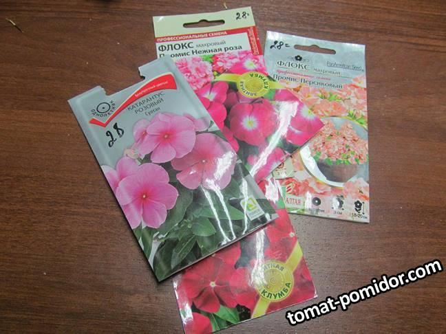 Посев цветов 10 марта 21