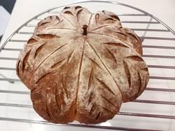 тыквенный хлеб с семенами на закваске