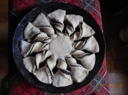 Второй вариант пирога с маковой начинкой.