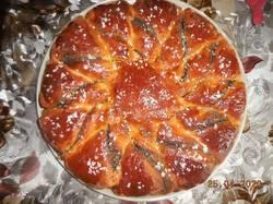 Маковый пасхальный пирог