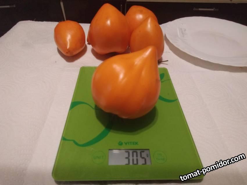 Оранжевое сердце от Анжелини