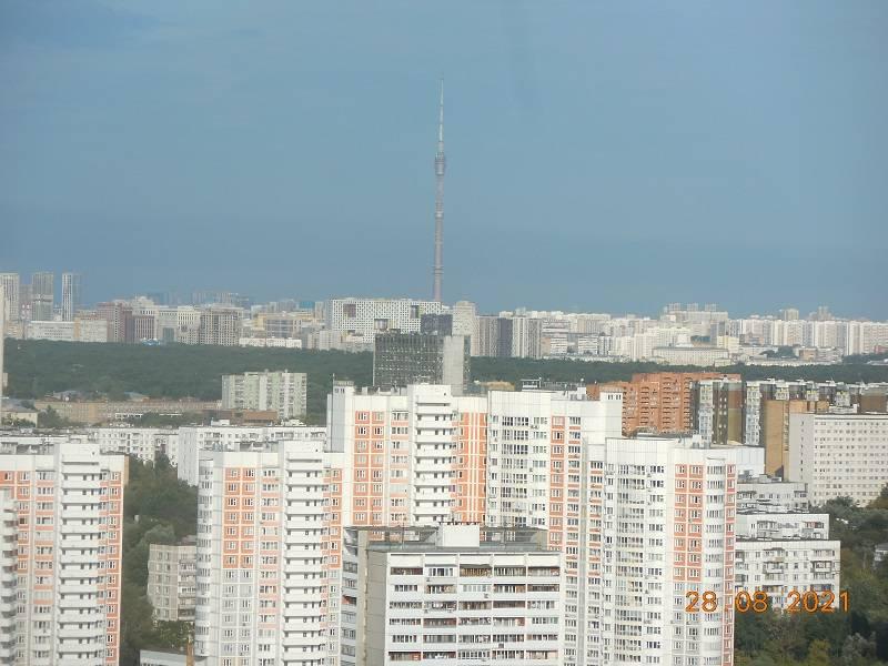 Вид с 26 этажа гостиницы