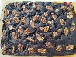 Шоколадный пирог с тертым кабачком или тыквой