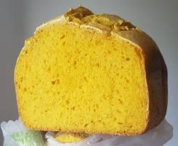 Муж сделал тыквенный хлеб на закваске в хлебопечке