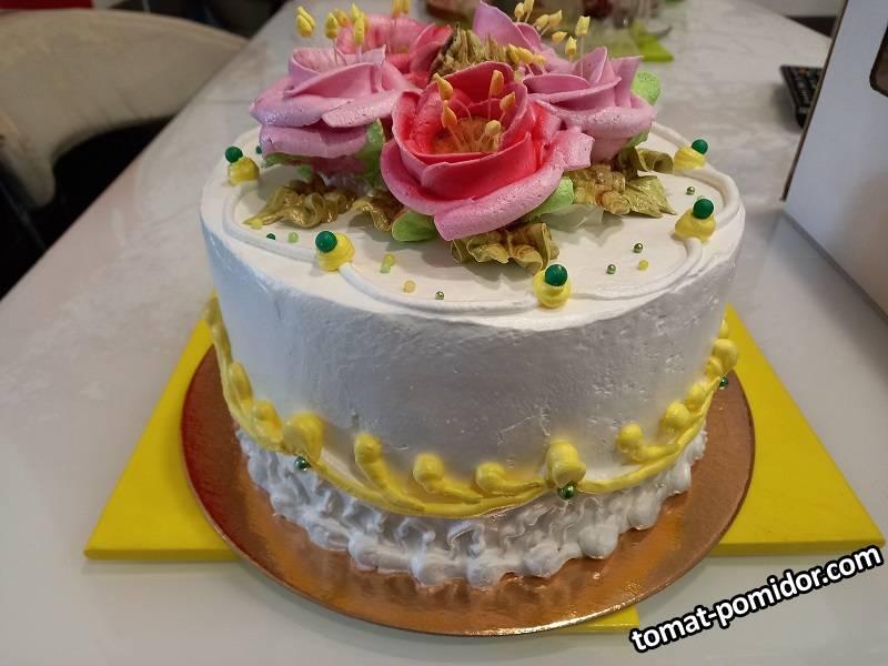 торт для дочечки