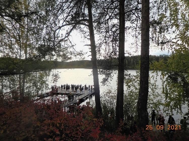 Концерт на воде. Озеро Кошкуль