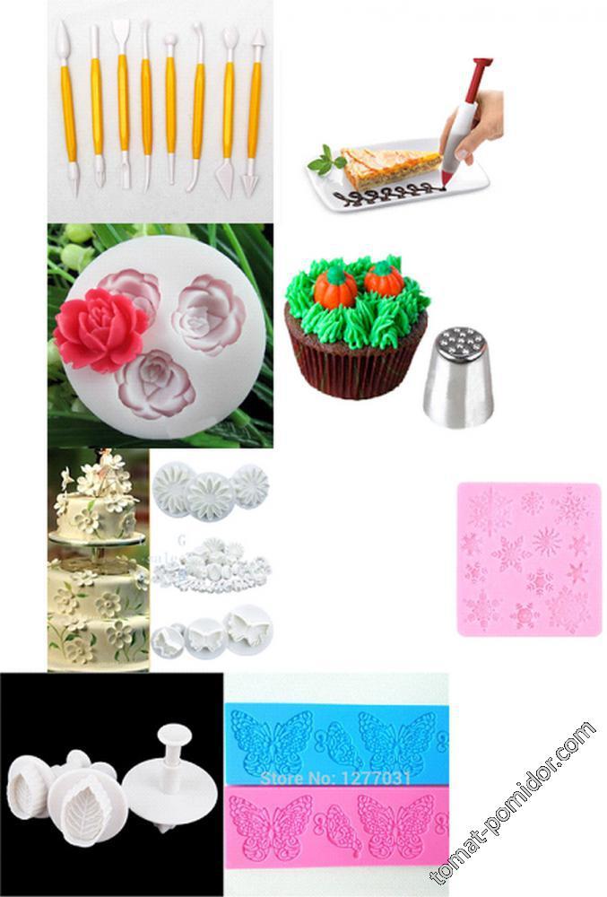 Для украшения торта