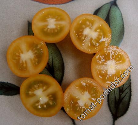 Yellow Leaf Sweet Cherry Potato (Жёлтый Сладкий Черри) (картофельный лист)