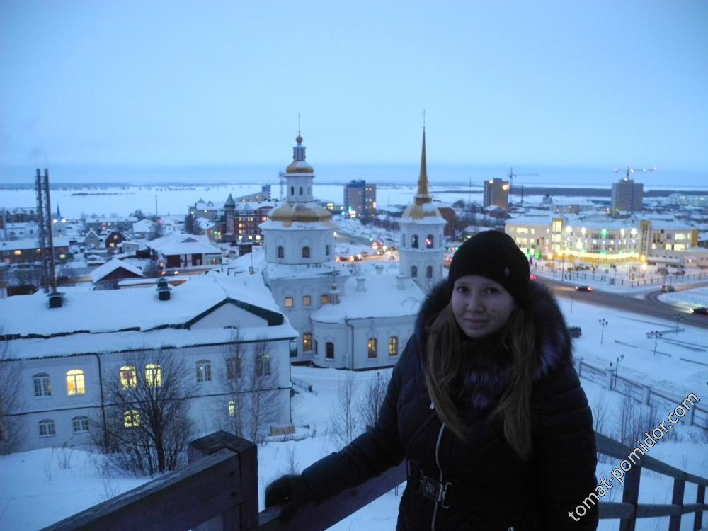 Ленуся над Ханты-Мансийском