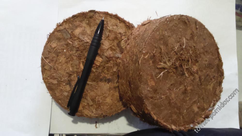 Кокосовый диск d=135 мм