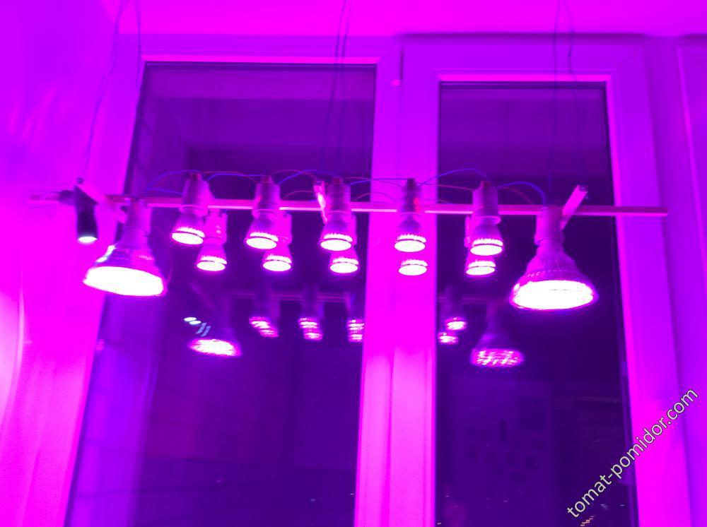 Светильник из ламп с алиэкспресс