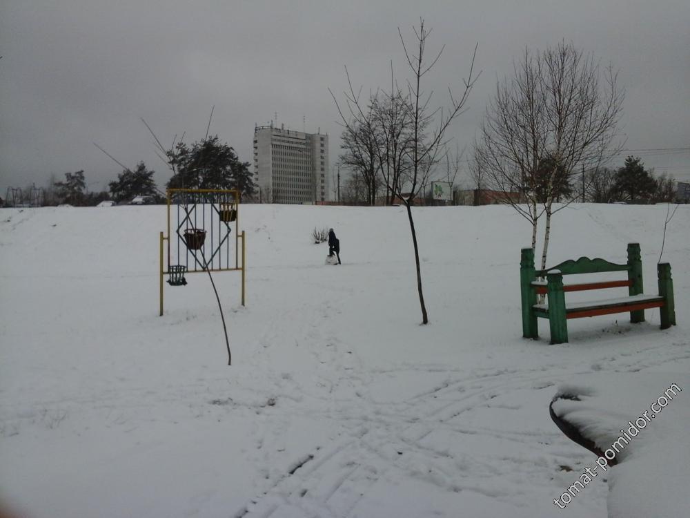 Зима пришла в марте