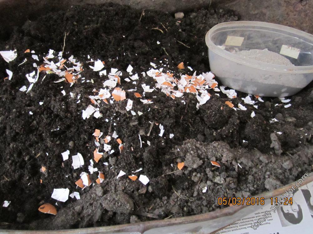 Подготовка почв для рассады