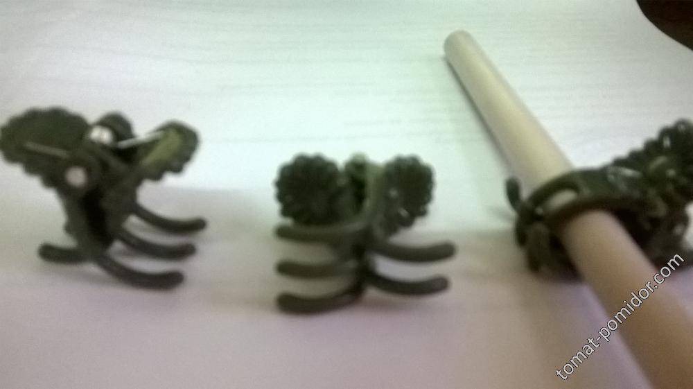 зажимы для орхидей(для прививки арбузов)
