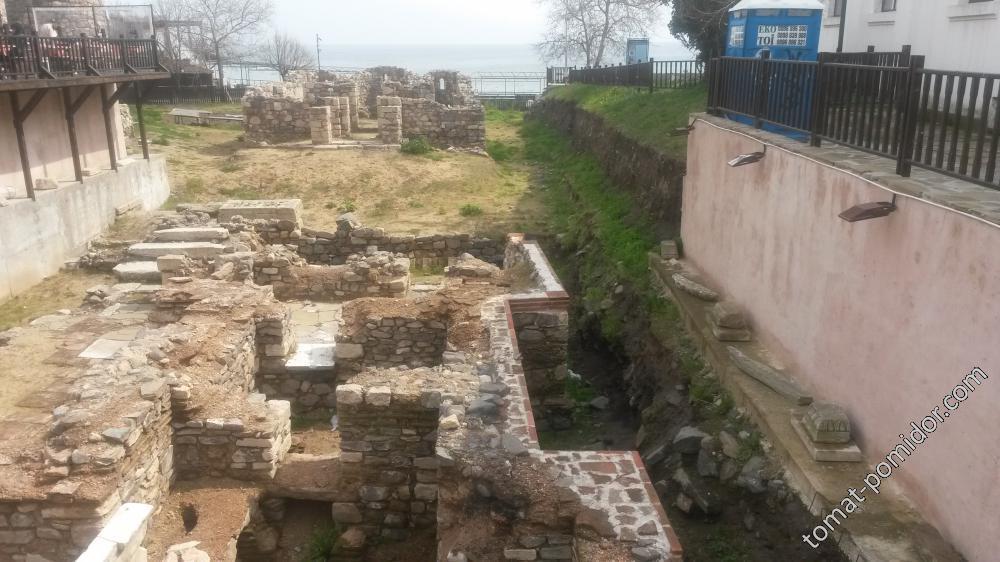 Созопол -раскопки