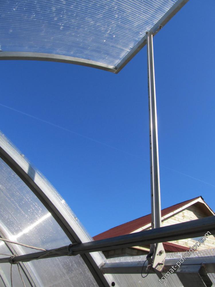 Форточка в крыше