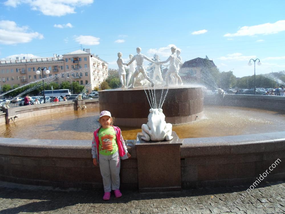 фонтан у вокзала
