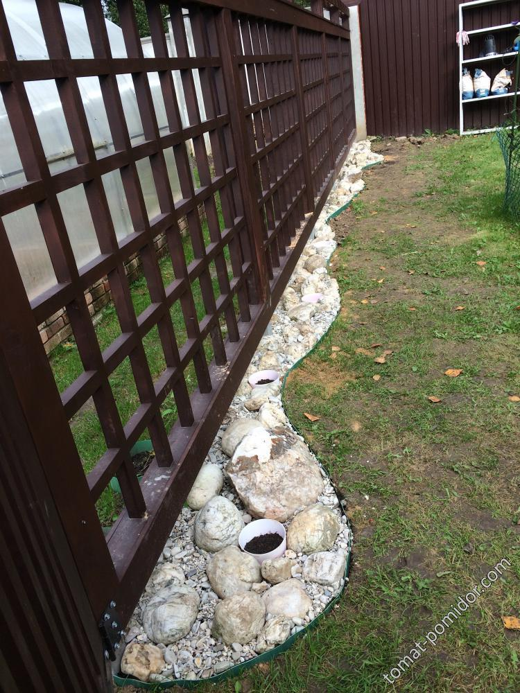 Облагораживаем забор