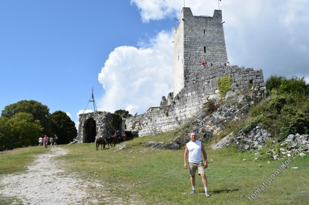 Главная Восточная Башня на Иверской горе