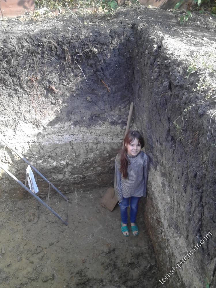 Полина на дне ямы