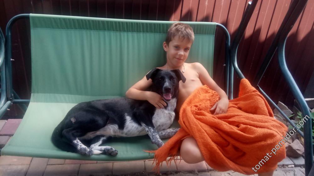 Сынок с Розочкой