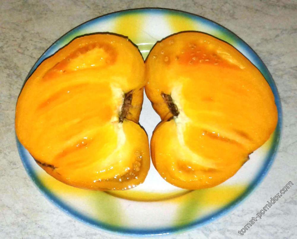 Немецкая оранжевая клубника