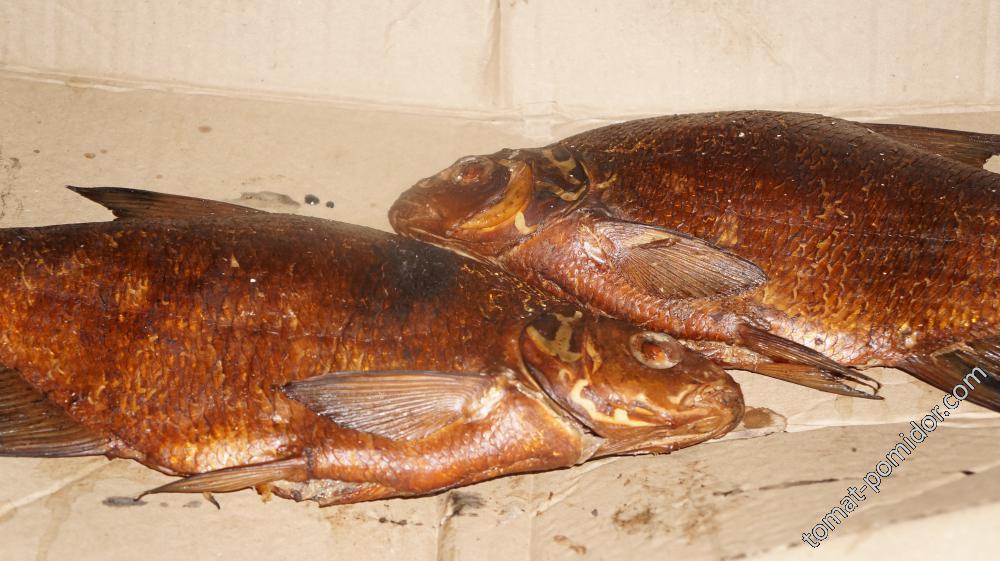 Рыбка копченая