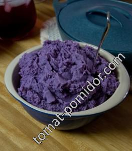 Фиолетовая толчонка