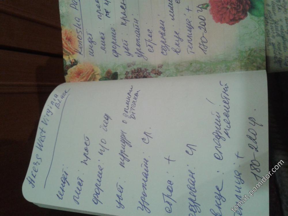 Садовые записки