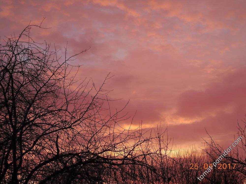 Небо на Радоницу