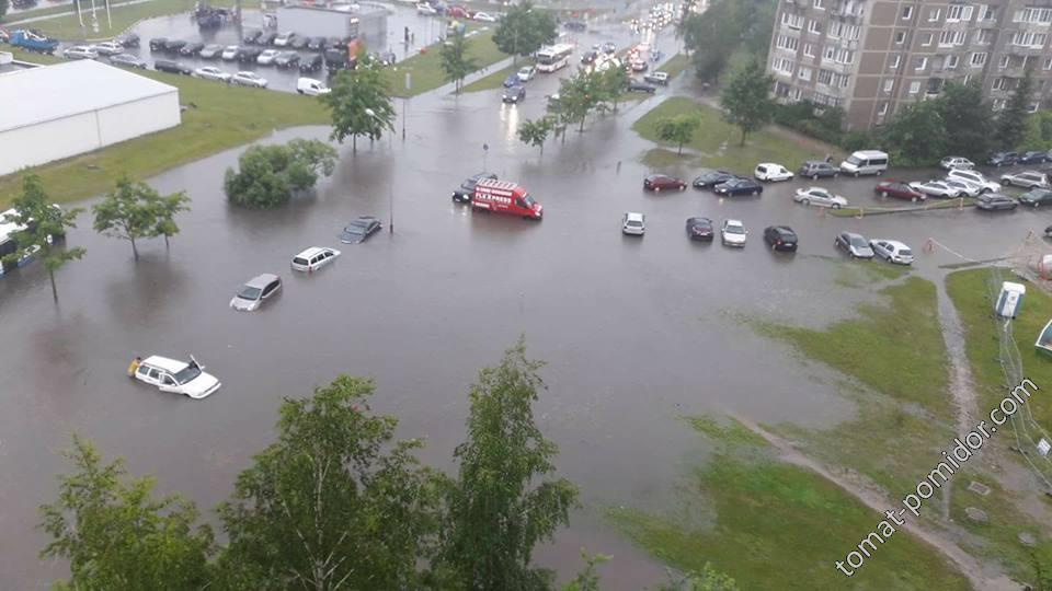 Утро 29 июня Вильнюс