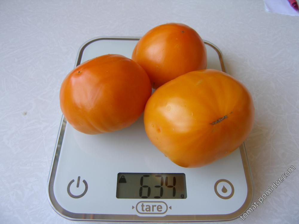 Оранжевая клубника